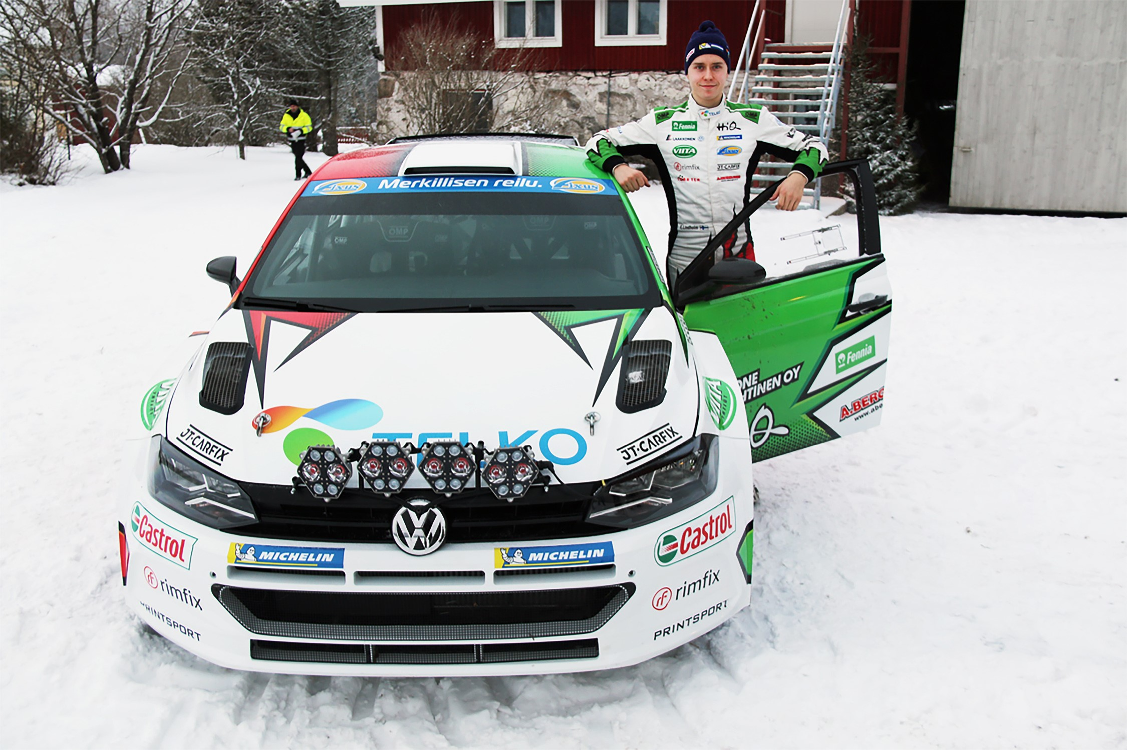 Emil Lindholm Arctic Rally 2019