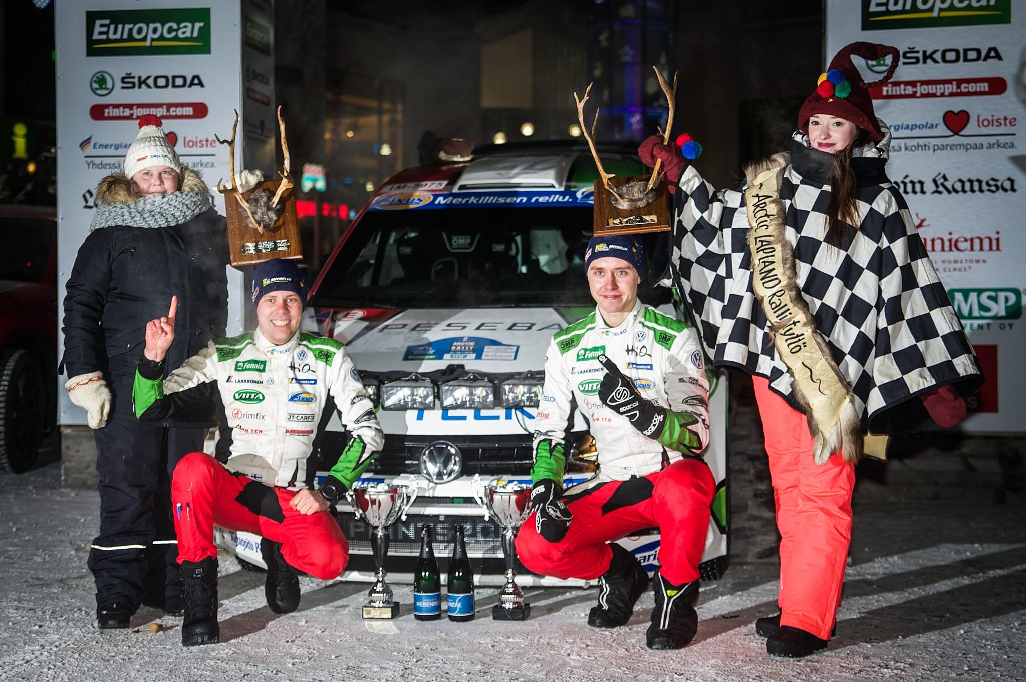 Emil Lindholm_Arrctic Rally 2019 winner